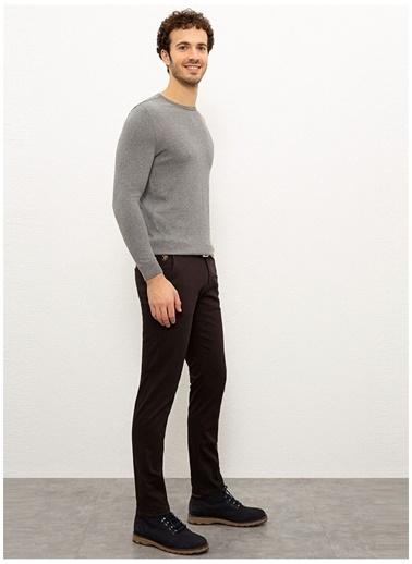 U.S. Polo Assn. U.S. Polo Assn. Düz Kahverengi Erkek Pantolon Kahve